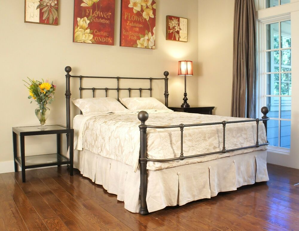 Beautiful Iron Bed Standard King Ebay