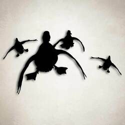 Duck Hunting Decal Sticker Truck Car Window Case Cooler Waterfowl Cupped Hunter