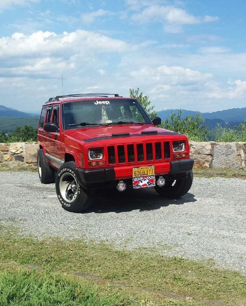 1993 1994 1995 1996 1997 Jeep Cherokee XJ Mad Angry Eyes