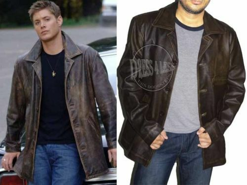 Supernatural Dean Winchester Distressed Leather Jacket