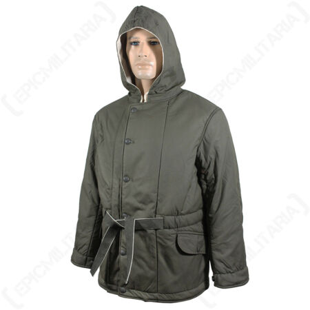 img-WW2 German Grey Padded Parka - Repro Army Heer Reversible Coat Jacket All Sizes