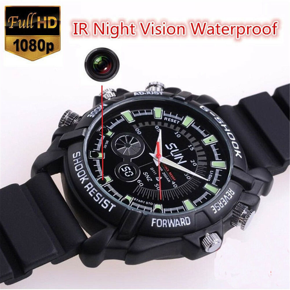 Mini 32gb Dvr Waterproof Hd 1080p Spy Hidden Watch Camera