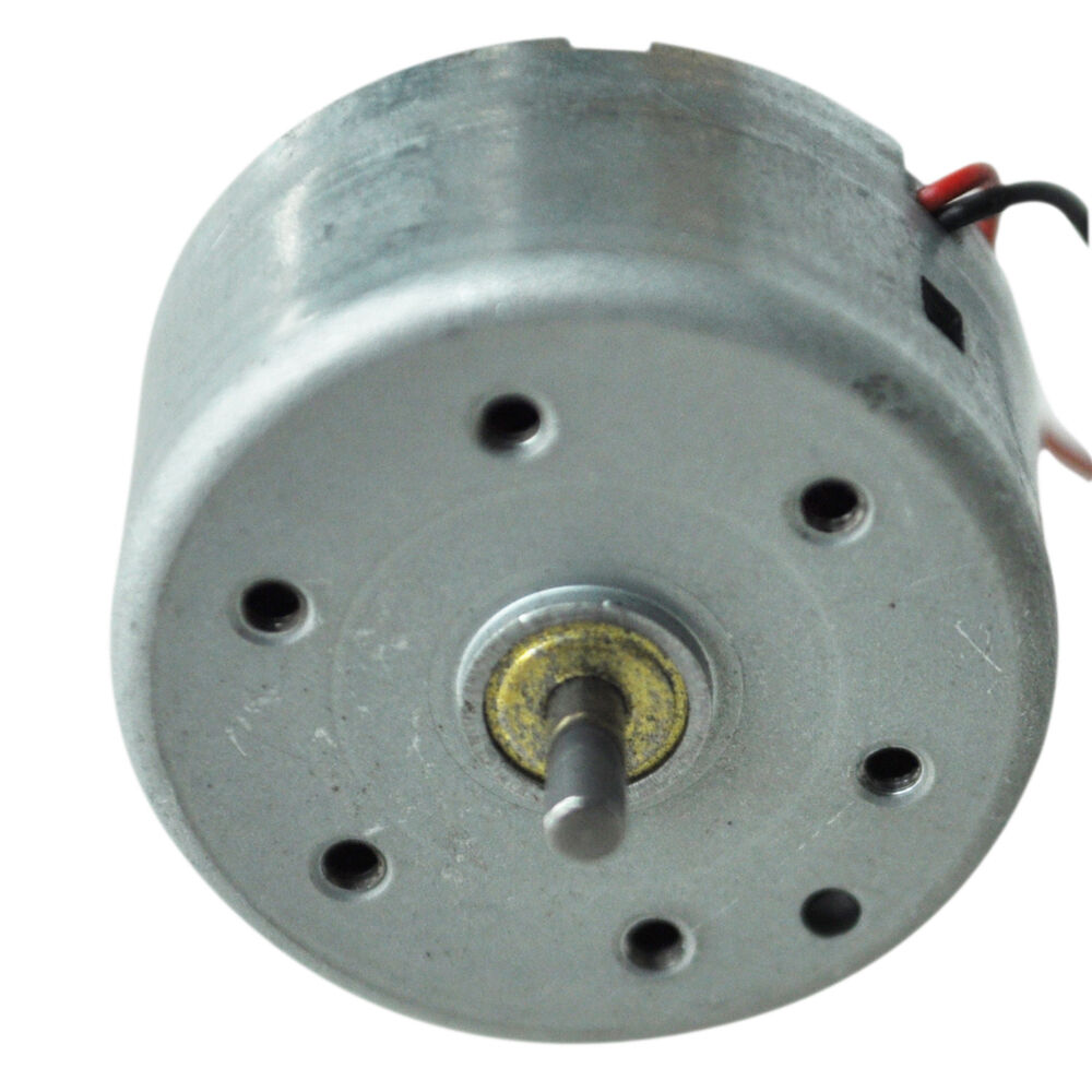 1700 7300rpm 1 5 6 5v high torque cylinder electric mini for Small dc electric motor