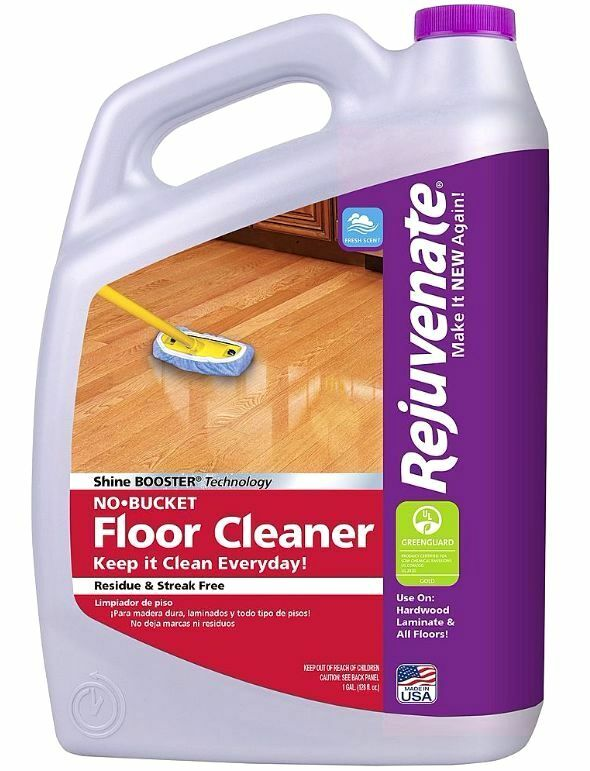 Rejuvenate 1 gallon no bucket 128 oz floor cleaner for Floor cleaning