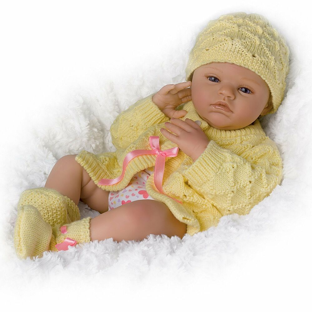 Lily Charlotte Realistic Newborn Baby Girl Doll Is Fully