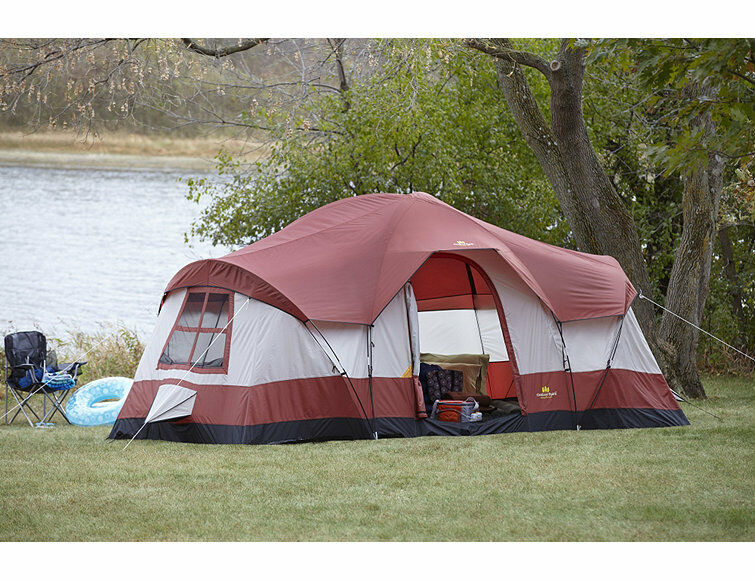 Outdoor Spirit 10 Person Dome Tent Fh1810584 Size 18