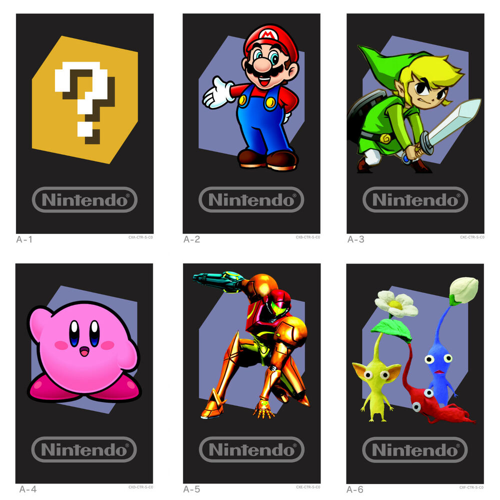 Nintendo 3ds Game Card : Nintendo ds augmented reality cards ar full set