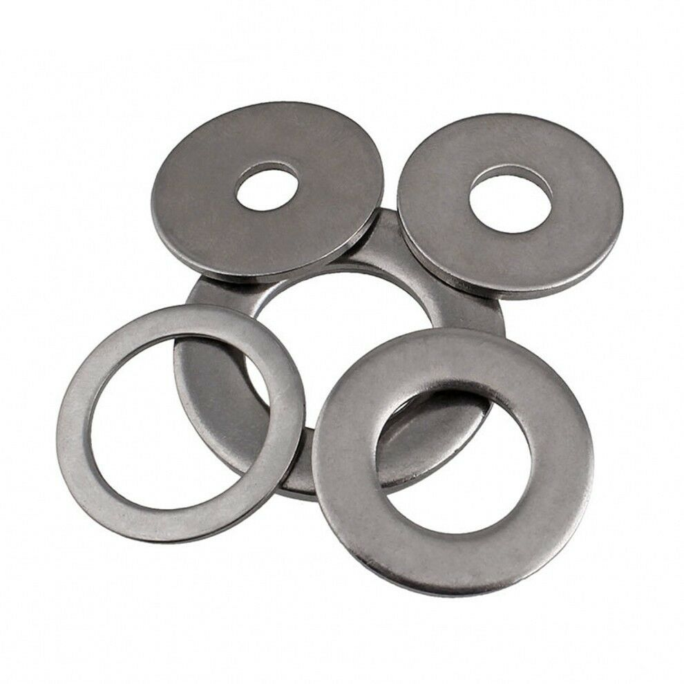 201 SUS STAINLESS STEEL FLAT WASHERS TO FIT SCREWS BOLTS ...