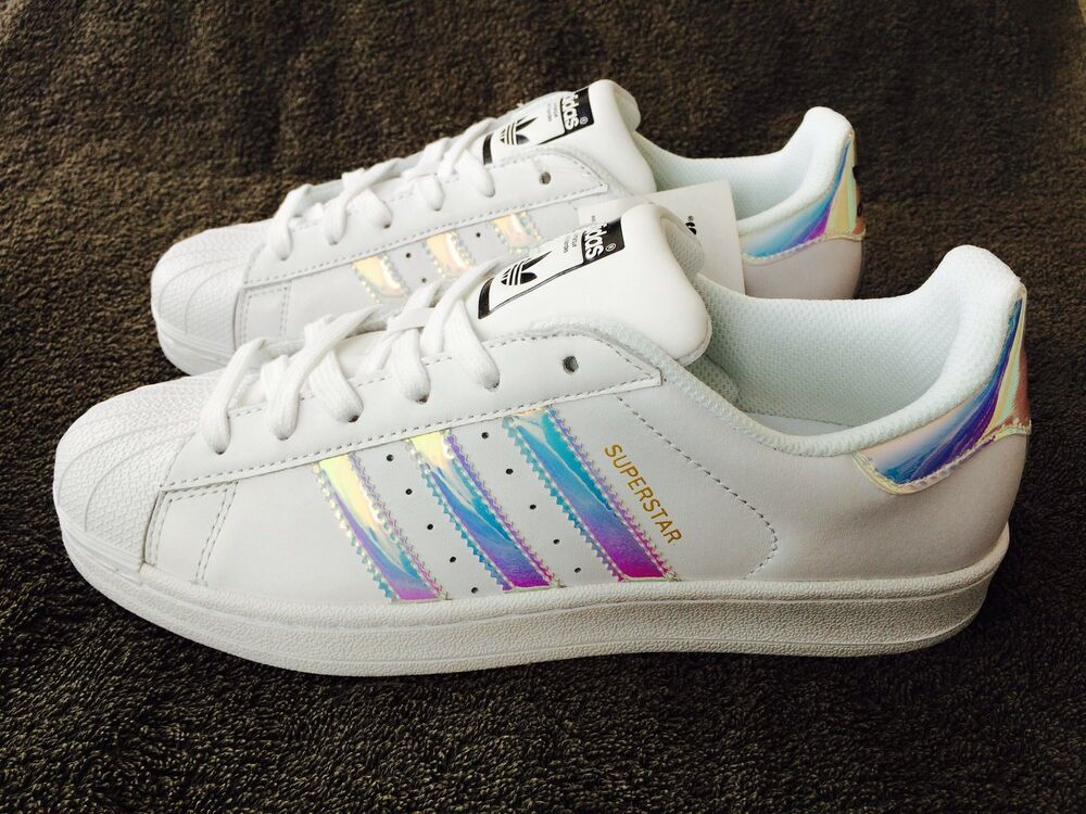 adidas superstar women 39 s trainers iridescent dubai uk size. Black Bedroom Furniture Sets. Home Design Ideas