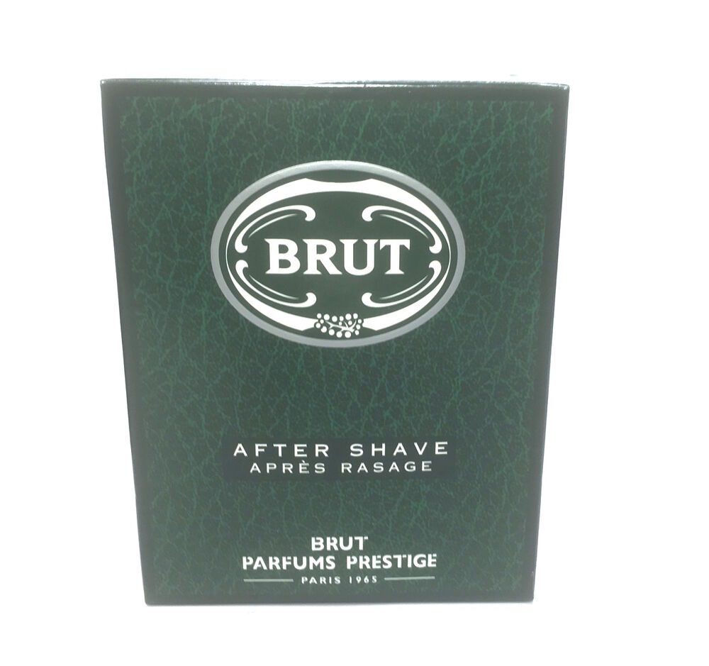 Brut After Shave Apres Rasage 100ml Brut Parfums Prestige Paris 1965