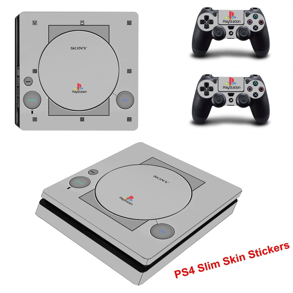 Old Games For Ps4 : Classic ps style game cover for sony slim console
