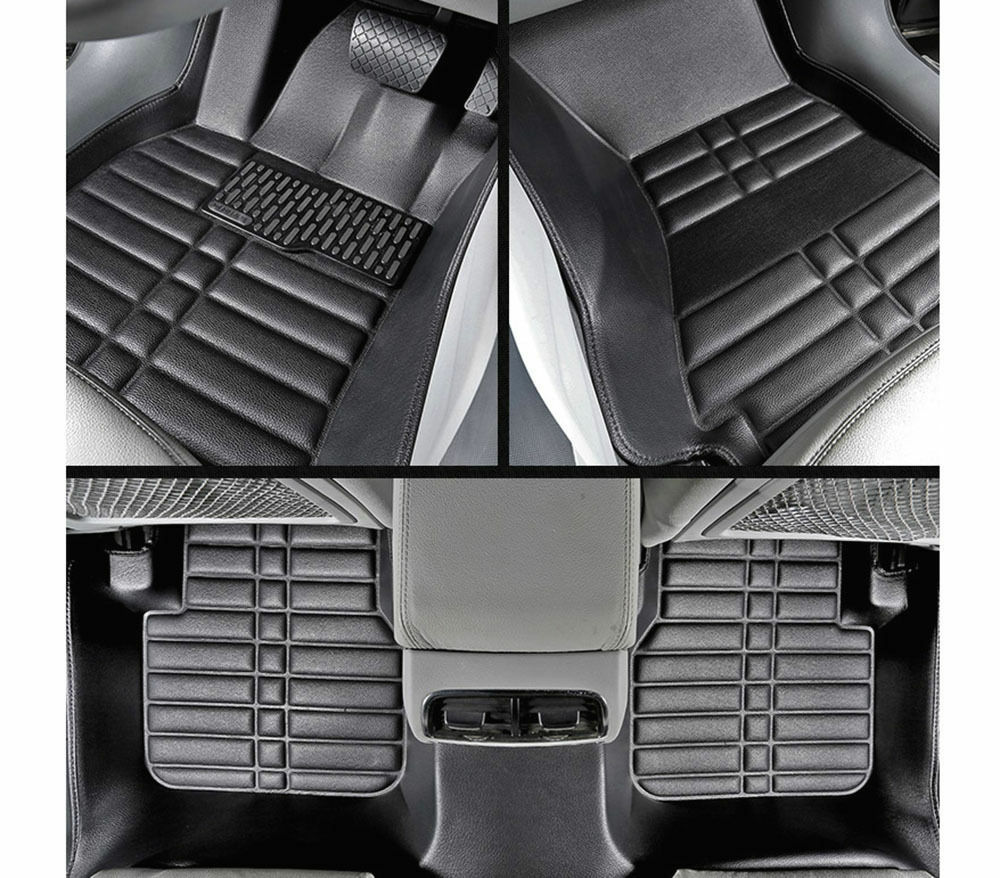 For BMW X3 2003-2010 FLY5D Car Floor Mats Front & Rear