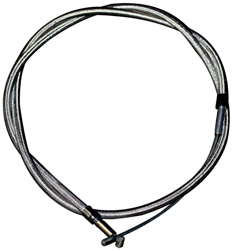 38619 57 Braided Steel Clutch Cable Harley Davidson K