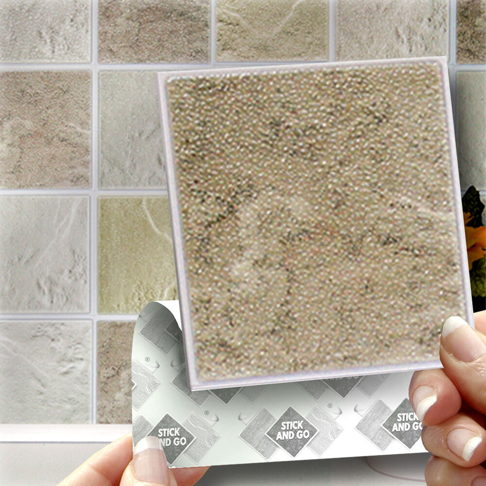 18 Stick and Go   039 Cotswold  039  Stone Wall Tiles  Stickers For Kitchen  or Bathroom   eBay. 18 Stick and Go   039 Cotswold  039  Stone Wall Tiles  Stickers