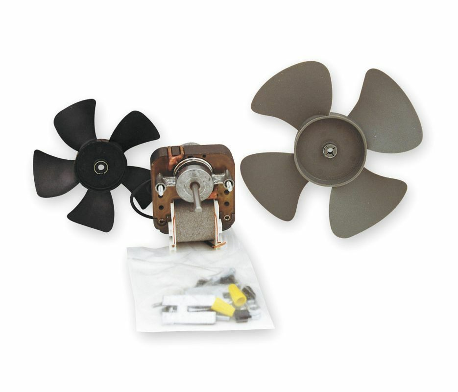Universal Fan Replacement Electric Motor Kit With 2 Fan