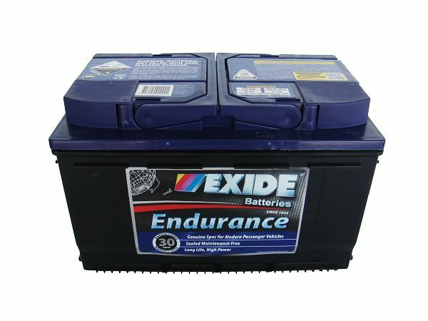 exide endurance din66mf battery for peugeot 207 renault laguna volkswagen passat ebay. Black Bedroom Furniture Sets. Home Design Ideas