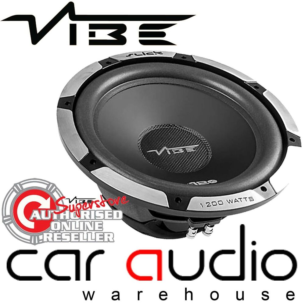 Vibe Slick S12 1200 Watts 12 Inch 30cm Car Sub Bass Subwoofer 4 Gauge 2000w Amplifier Wiring Kit Amp Power Cable Wire Speaker Ebay