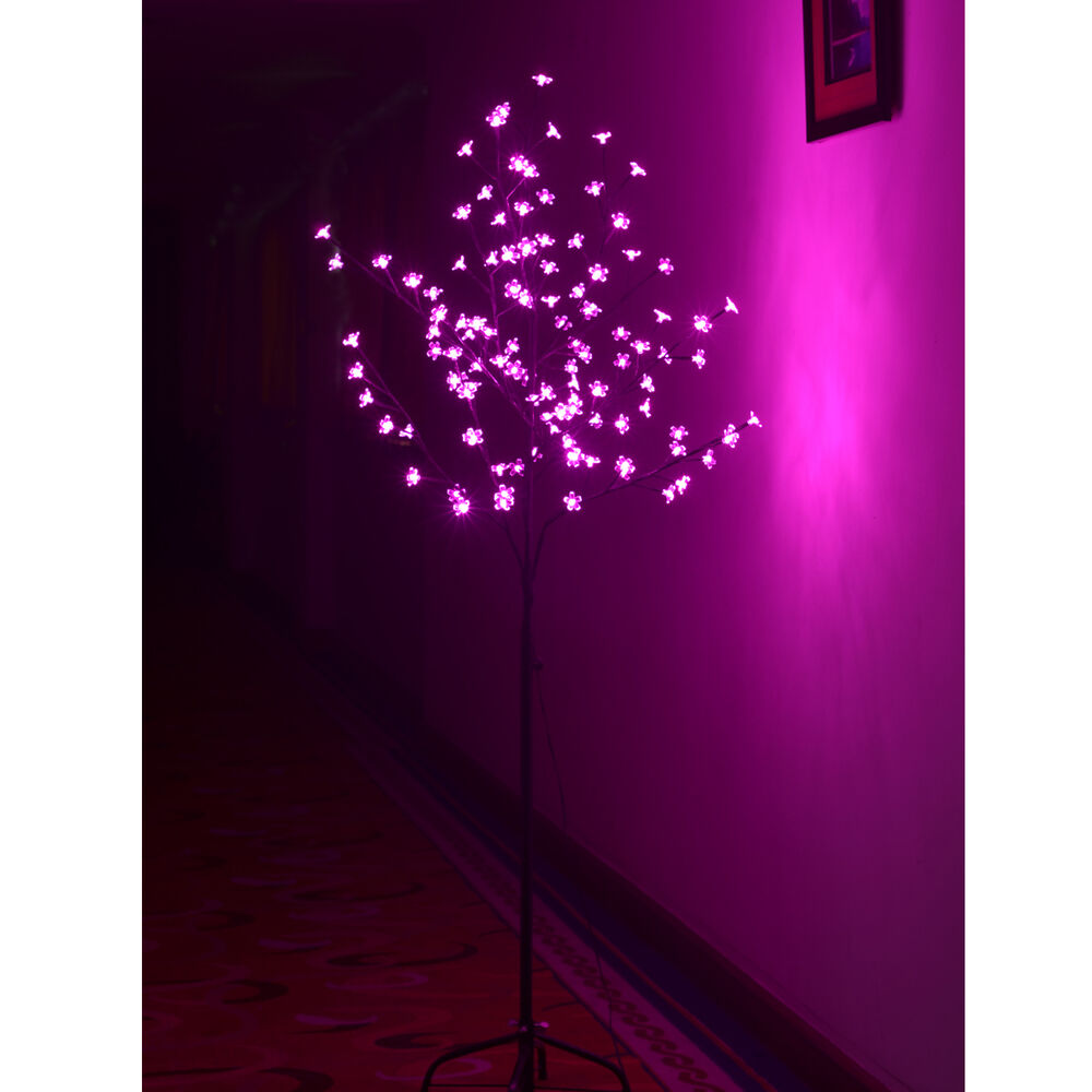 5ft 108 Led Cherry Blossom Flower Tree Christmas Light
