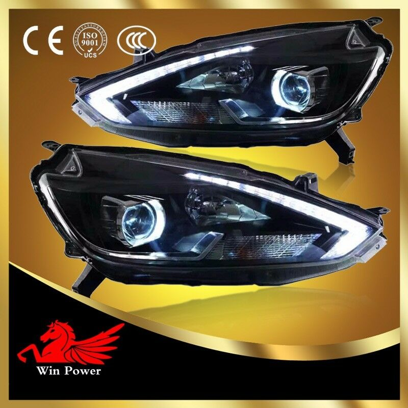 Nissan Sentra 2017 >> For 2016-2017 Nissan Sentra HID Headlights With LED DRL And Bi-xenon Projector | eBay
