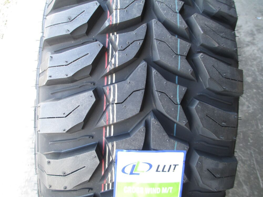4 New 33x12 50r20 Inch Crosswind Mud Tires 33125020 12 50 33 1250 20