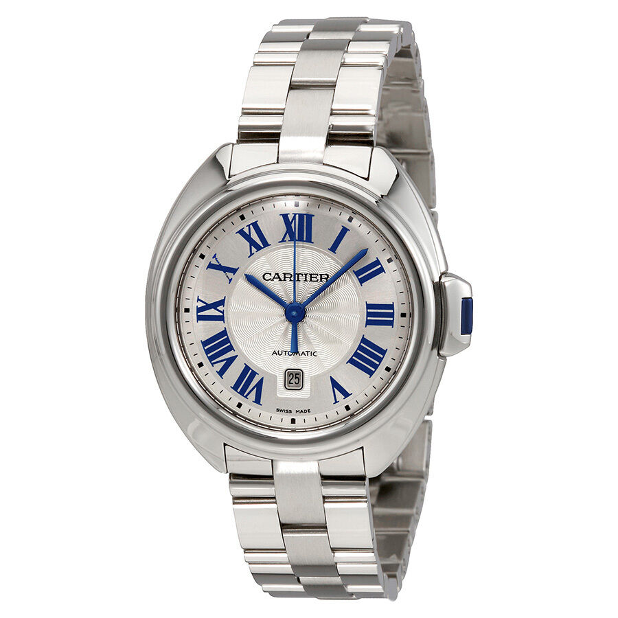 cartier cle automatic mens wscl0005 ebay
