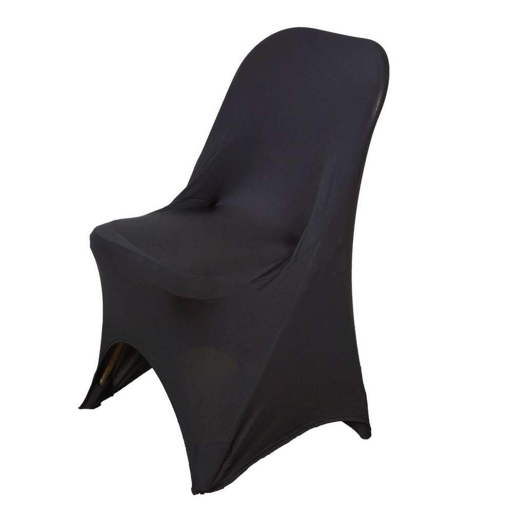 Sleek Spandex Folding Chair Covers Wedding Party Banquet