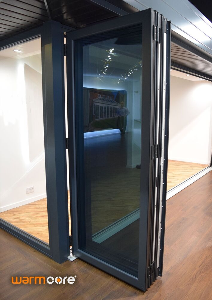 Warmcore aluminium bifold doors high quality ultimate for Quality doors