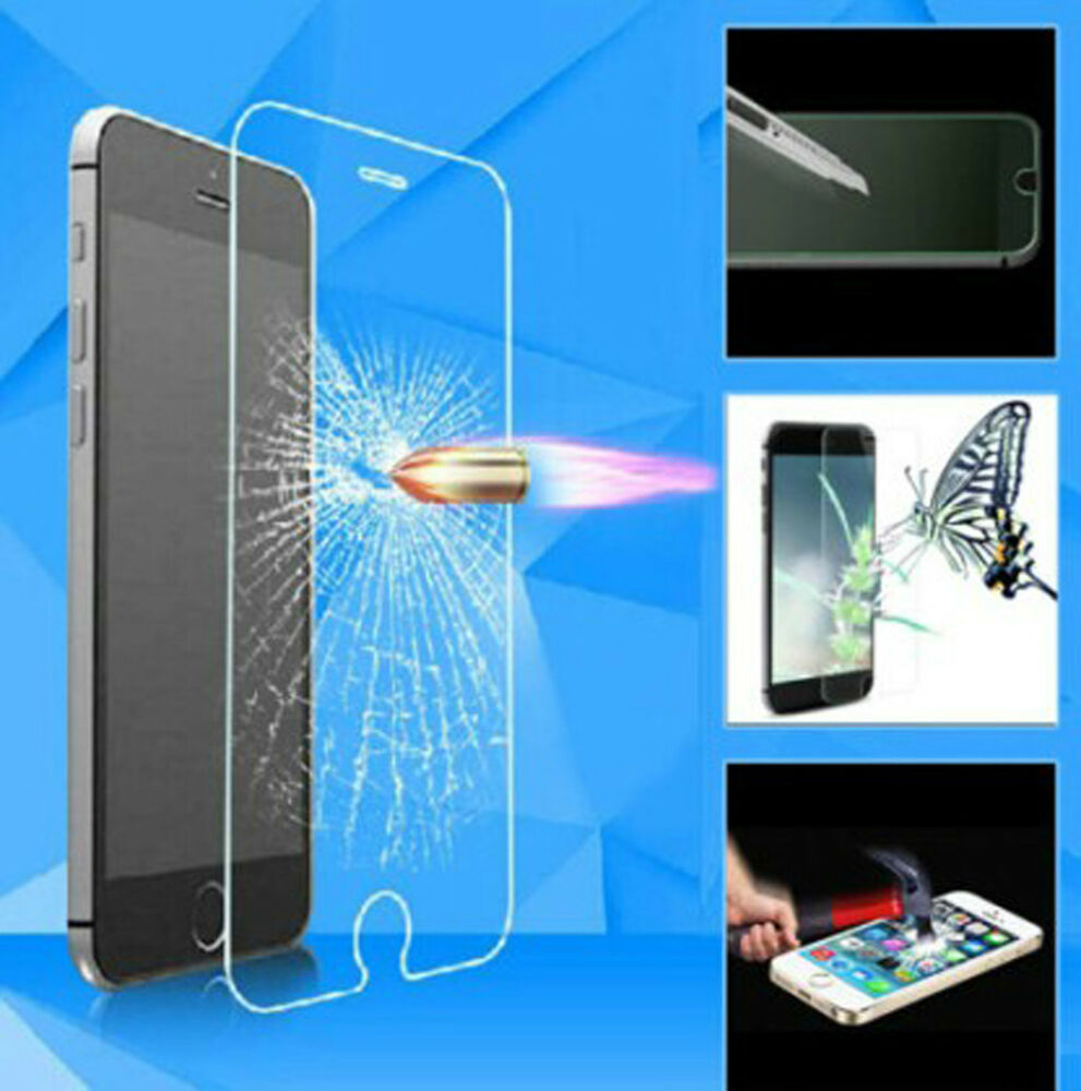f r iphone7 panzer folie tempered glass display scheiben schutz front 9h glas ebay. Black Bedroom Furniture Sets. Home Design Ideas