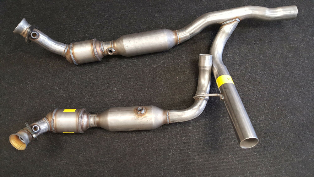 2004 2005 Ford F150 5 4l Eng 4wd Front Exhaust Y Pipe