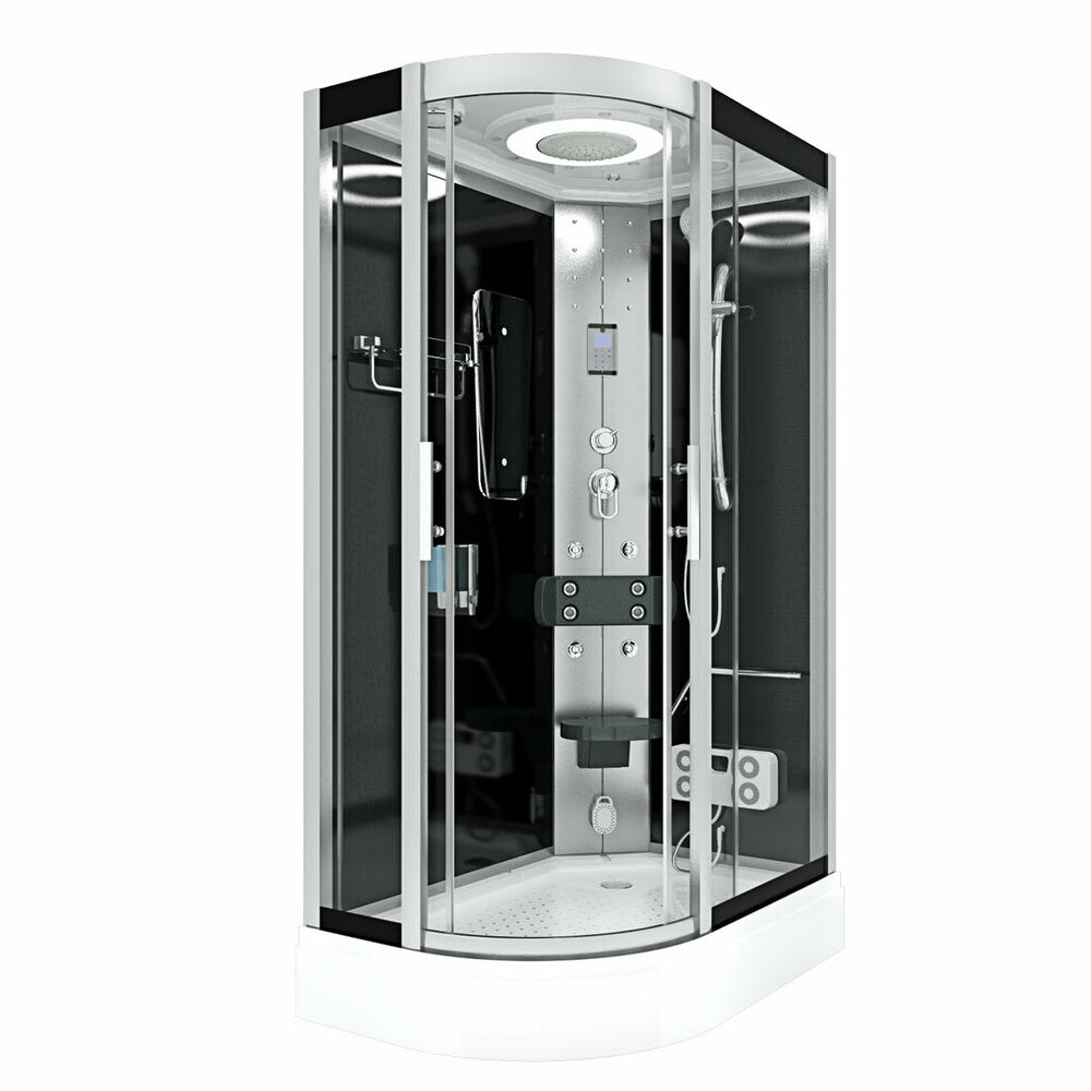 acquavapore dtp8060 7300l dusche duschtempel komplett. Black Bedroom Furniture Sets. Home Design Ideas