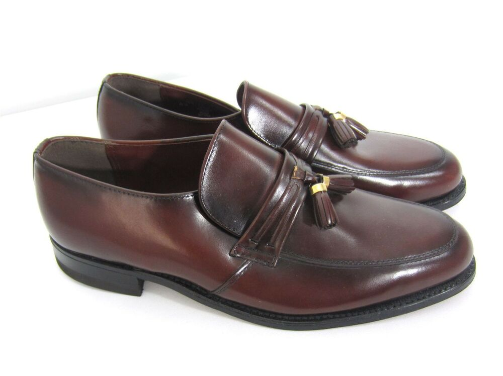 Nunn Bush Brown Leather Loafers Slip On Dress Shoes Mens ...