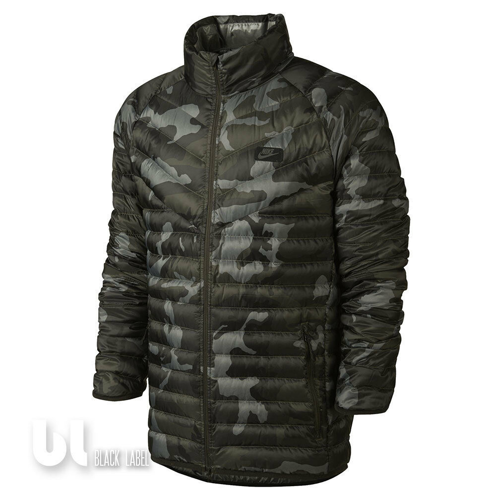 nike guild 550 printed jacke herren winterjacke camouflage. Black Bedroom Furniture Sets. Home Design Ideas
