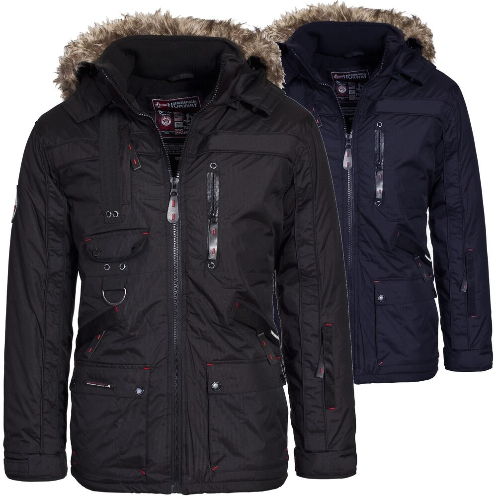 geographical norway chir premium herren winterjacke jacke parka outdoor s xxxl ebay. Black Bedroom Furniture Sets. Home Design Ideas