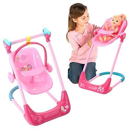 Baby Alive Swing High Chair And Car Seat 3 In 1 Combo Ebay