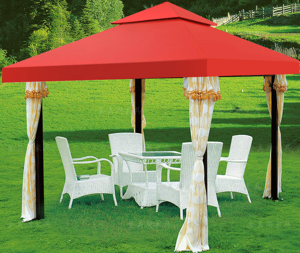 Outdoor Patio Gazebo 12x12 Canopies Shades Stc Gz734
