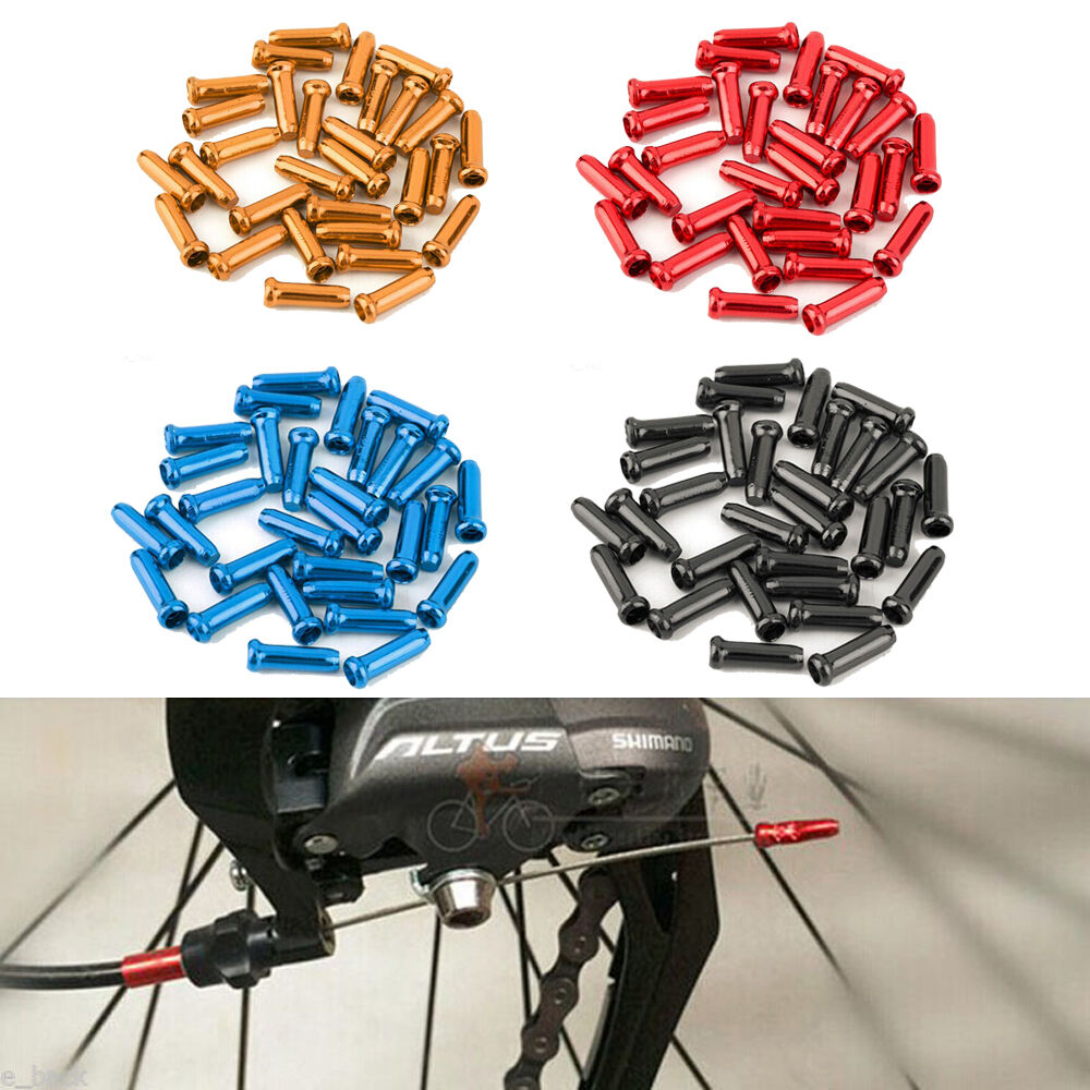 Fantasy Bike Bicycle Brake Shifter Derailleur Inner Cable Wire End Cap CrimpHFPT