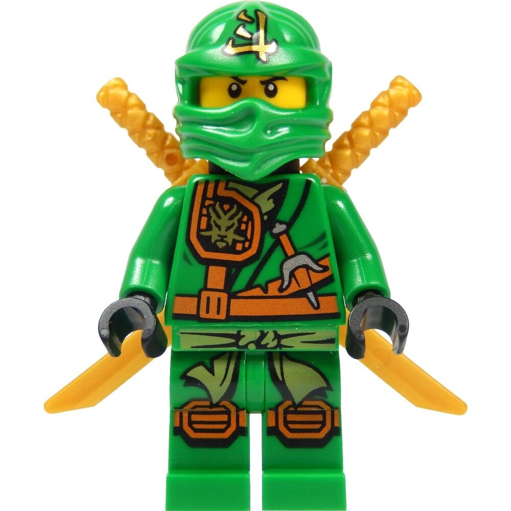lego ninjago figur llyod waffen neu 70749 ebay. Black Bedroom Furniture Sets. Home Design Ideas