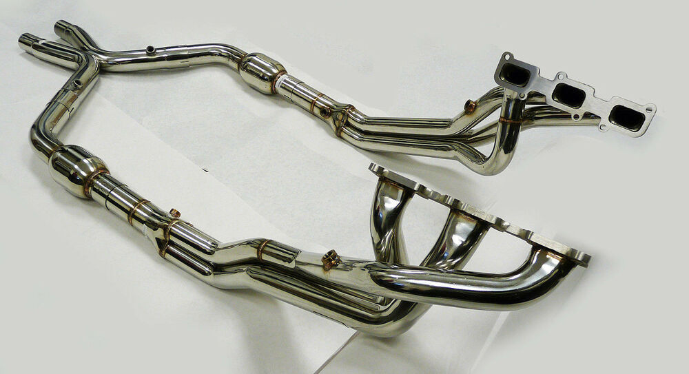 Obx Racing Long Tube Exhaust Header 2011 14 Ford Mustang 3