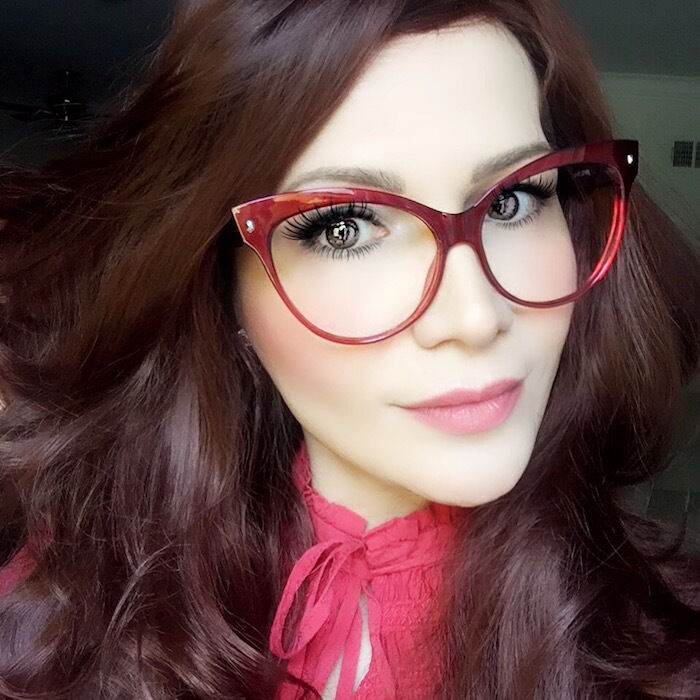 Ebay Red Cat Eye Glasses