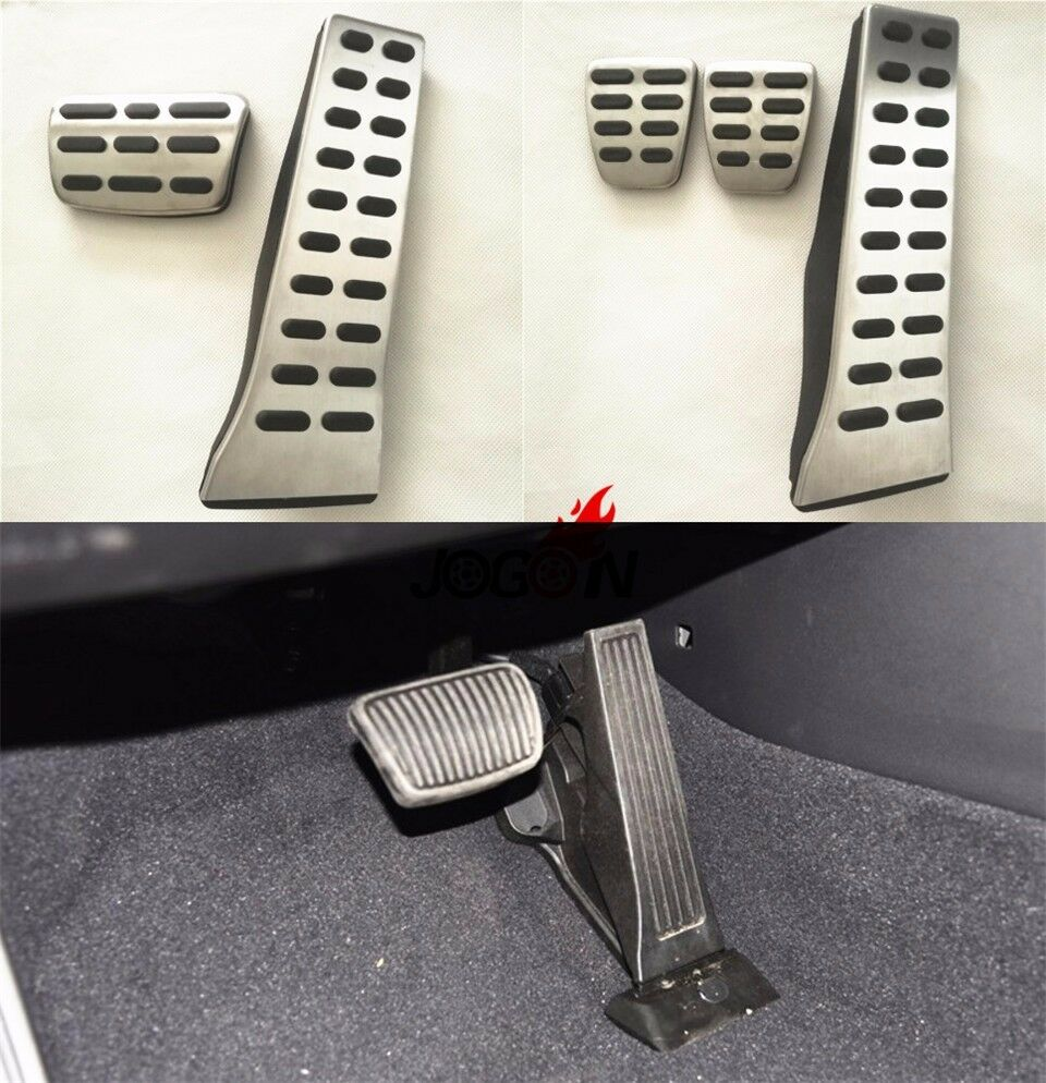 At Amp Mt Gas Fuel Brake Clutch Foot Pedal Pad Cover For Kia Sportage Ql 2016 2017 Ebay