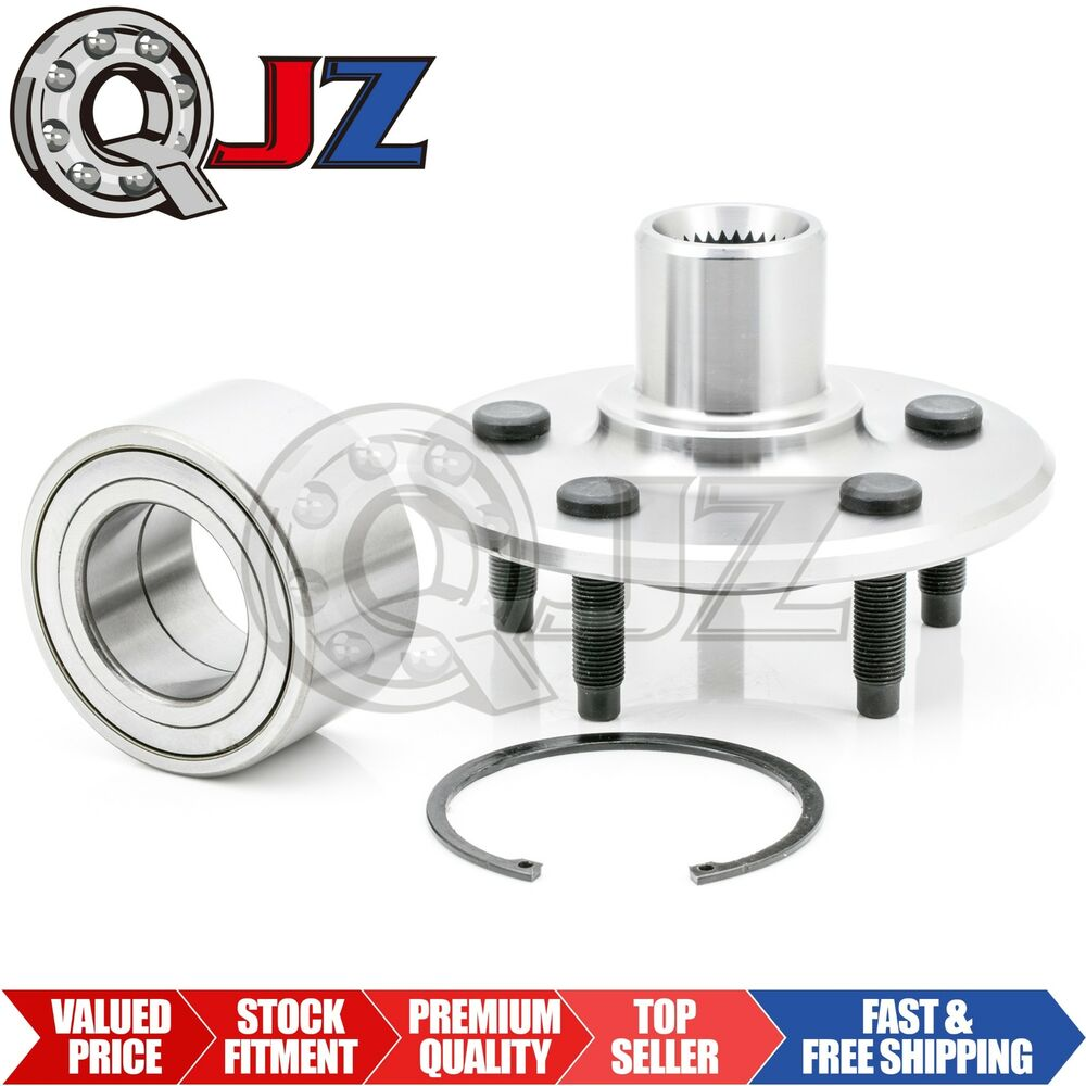 2x 2002 2010 ford explorer rear wheel hub bearing assembly. Black Bedroom Furniture Sets. Home Design Ideas