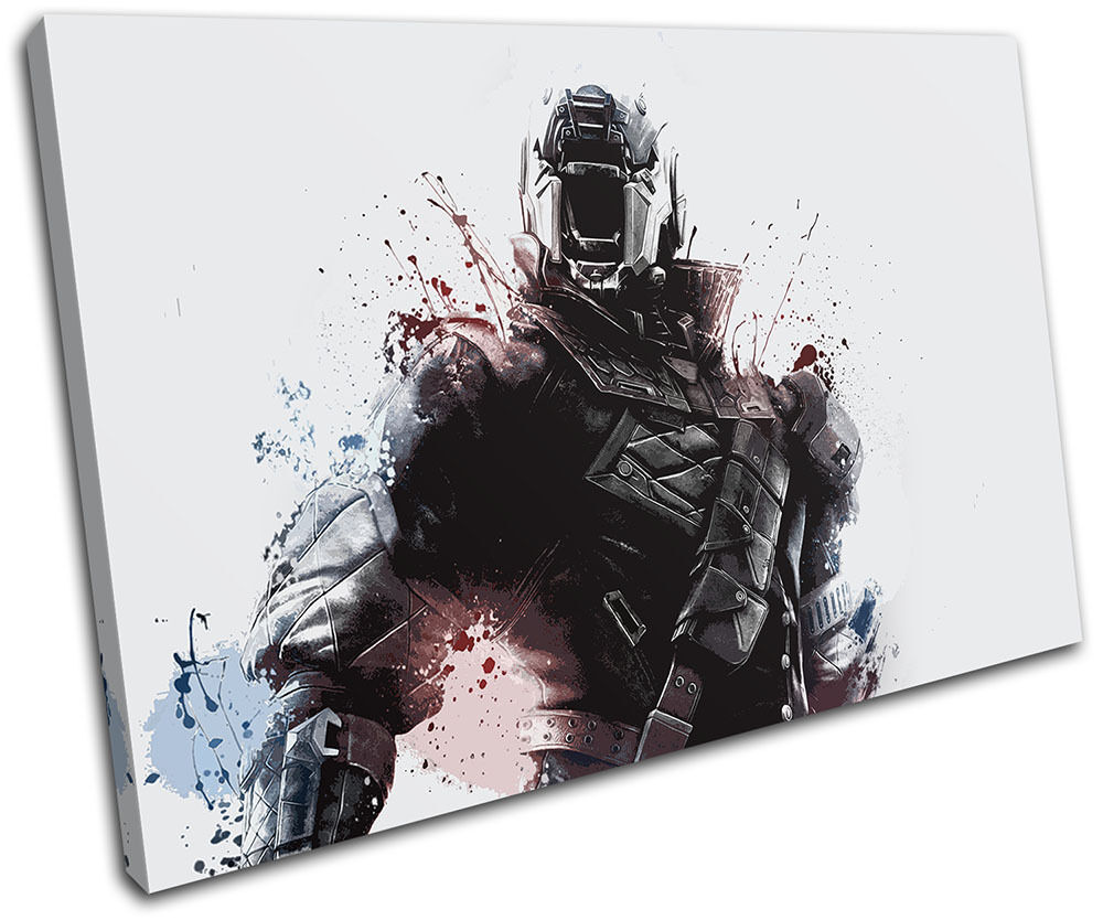 Destiny Soldier Xbox One Ps4 Pc Gaming Single Canvas Wall Art