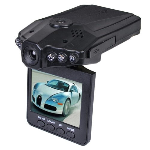Car Hd Dash Cam W Night Vision Flip Down 2 4 Quot Lcd Dashboard