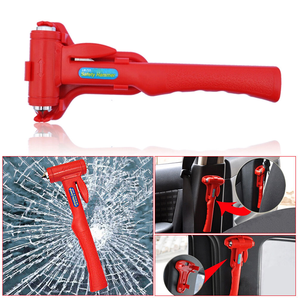 Car Emergency Safety Escape Hammer Auto Bus Tool Kit Belt