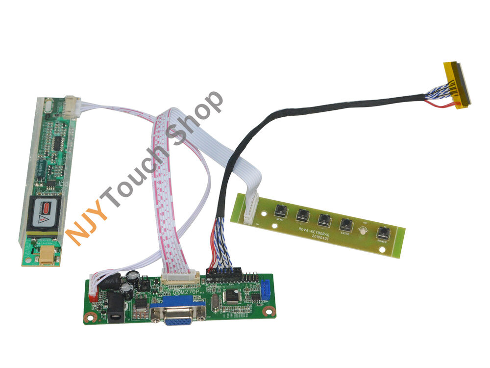 e4b9dcd229a Details about V.M70A VGA LVDS Controller Board work for 6.5inch ~19inch LCD  Panel DIY monitor