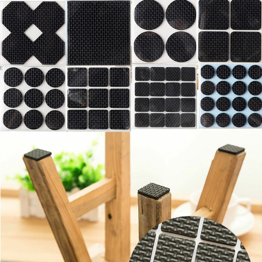 Anti Skid Rubber Furniture Protection Pads Self Adhesive