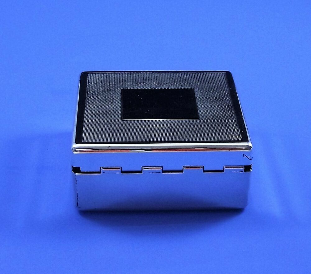 Things remembered silver plated jewelry box 3 5 for Things remembered jewelry box