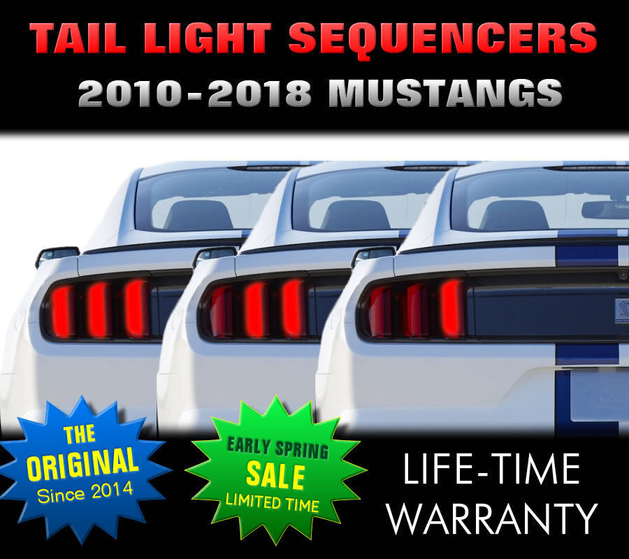 2010 2017 mustang tail light sequencer sequential. Black Bedroom Furniture Sets. Home Design Ideas