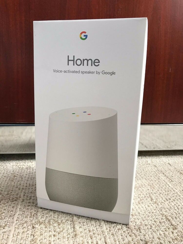 Google Home White Slate Google Personal Assistant
