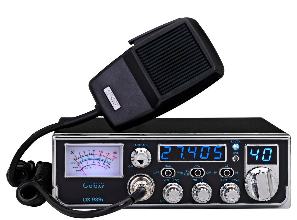 Cb Frequency Counter : Galaxy dx f mobile cb radio new ebay